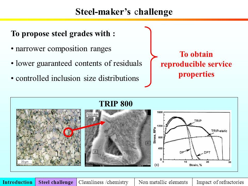 Steel-maker's challenge