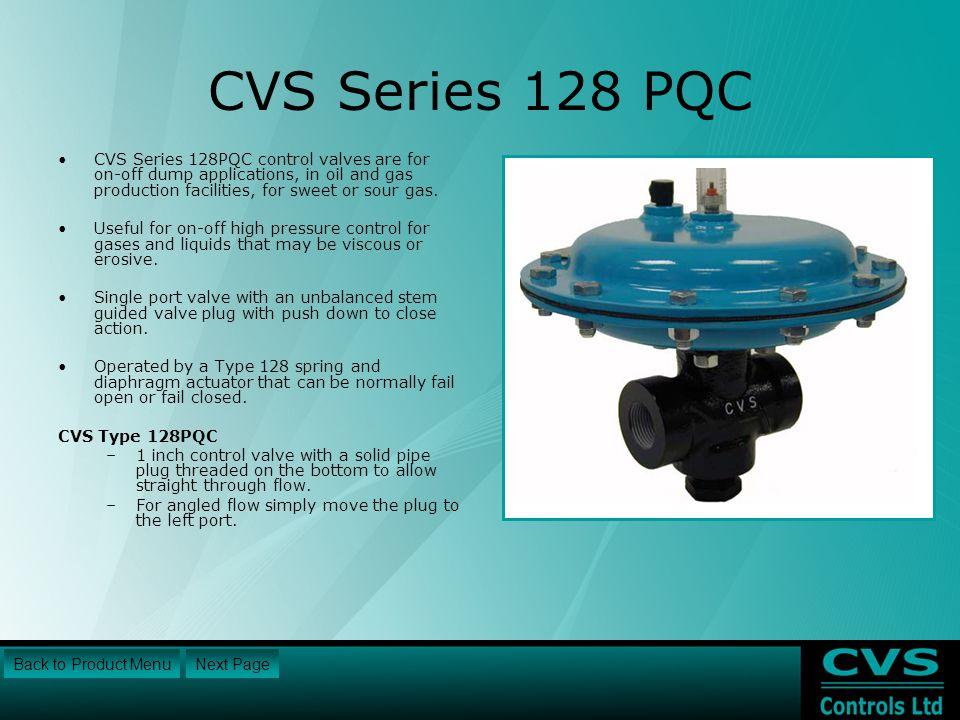 CVS Series 128 PQC