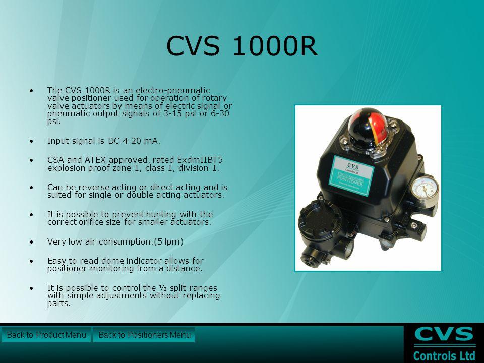 CVS 1000R