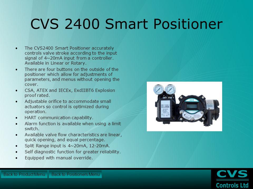 CVS 2400 Smart Positioner