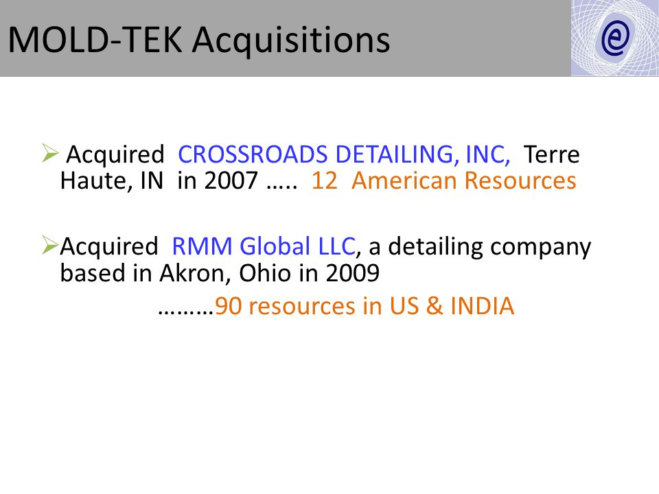 MOLD-TEK Acquisitions