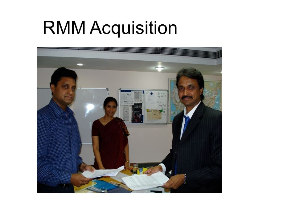 RMM Acquisition