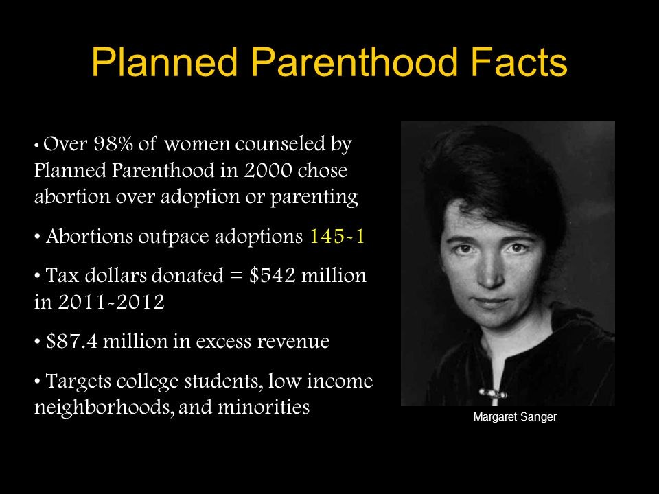 Planned Parenthood Facts