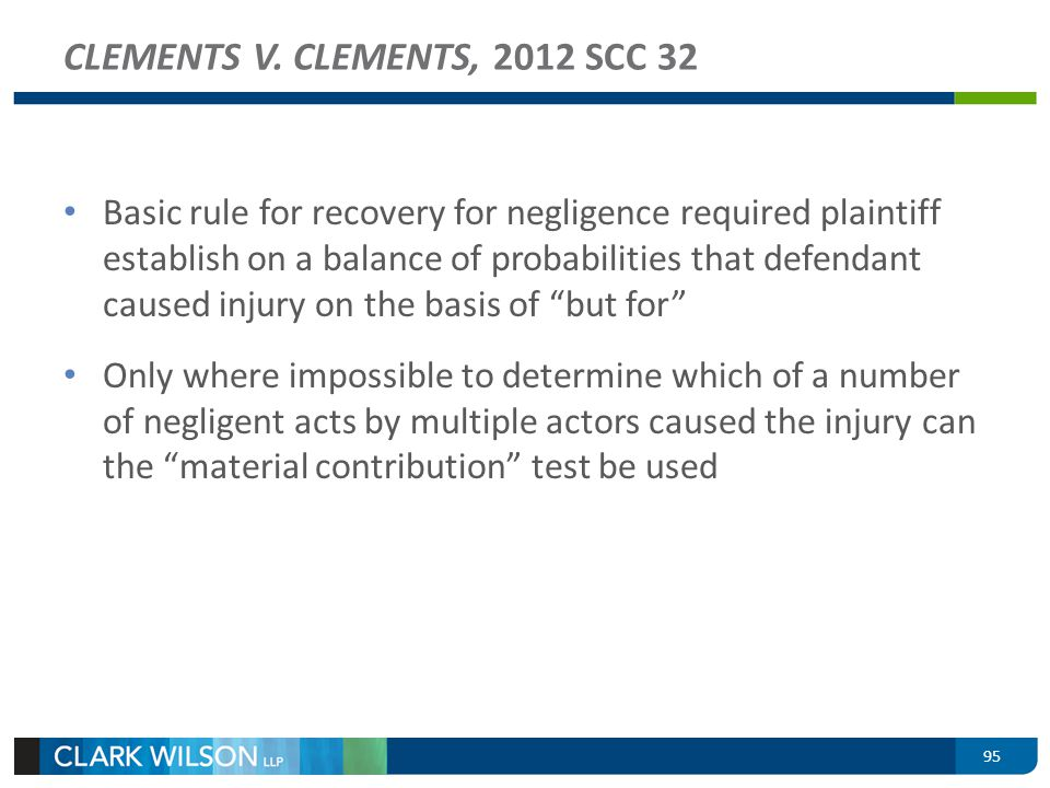 CLEMENTS V. CLEMENTS, 2012 SCC 32