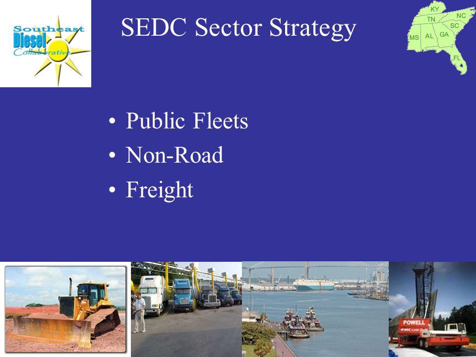 SEDC Sector Strategy Public Fleets Non-Road Freight