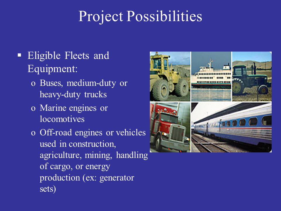 Project Possibilities