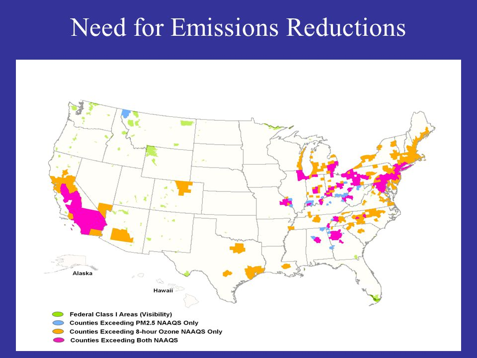 Need for Emissions Reductions