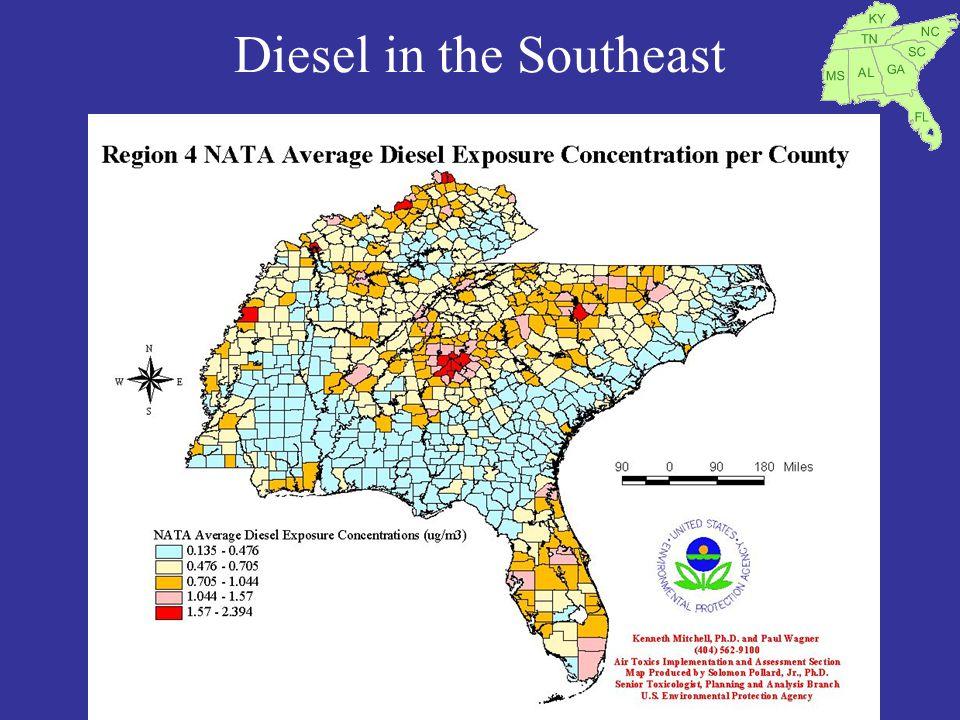 Diesel in the Southeast