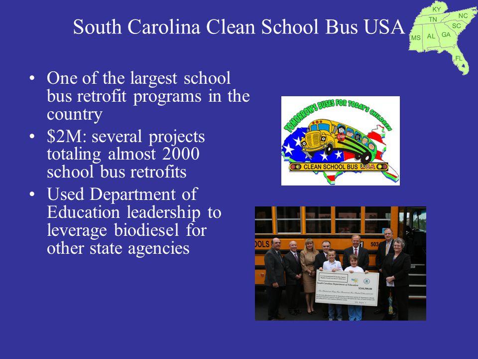 South Carolina Clean School Bus USA