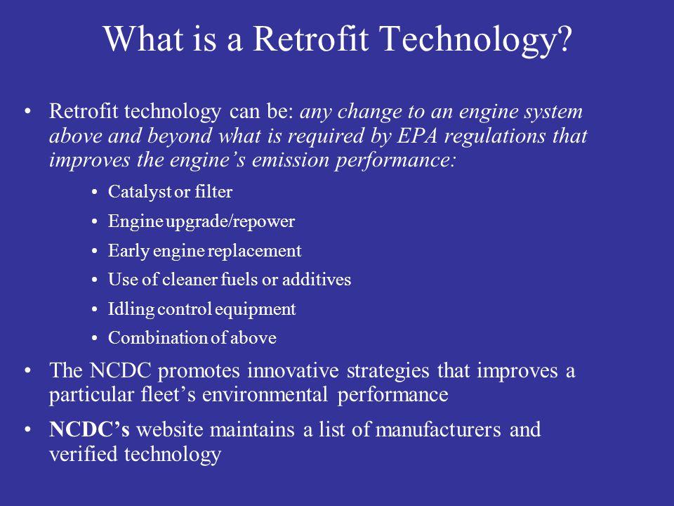 What is a Retrofit Technology