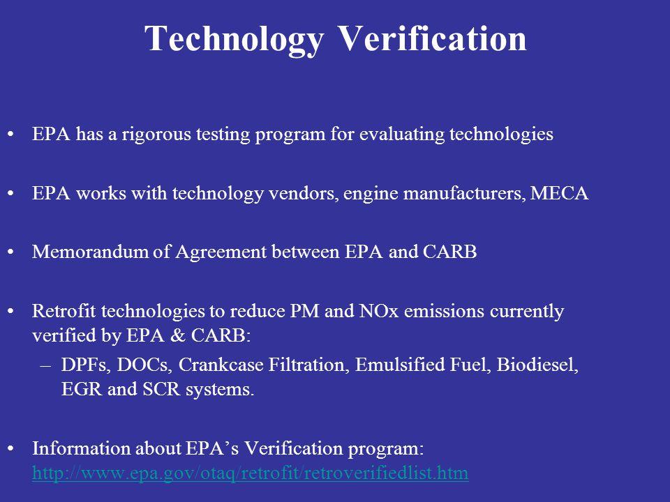 Technology Verification