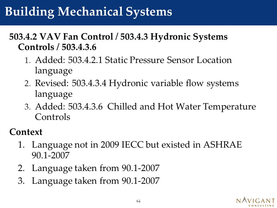 Section 504 Service Water heating