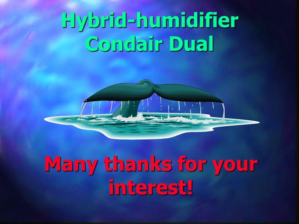 Hybrid-humidifier Condair Dual