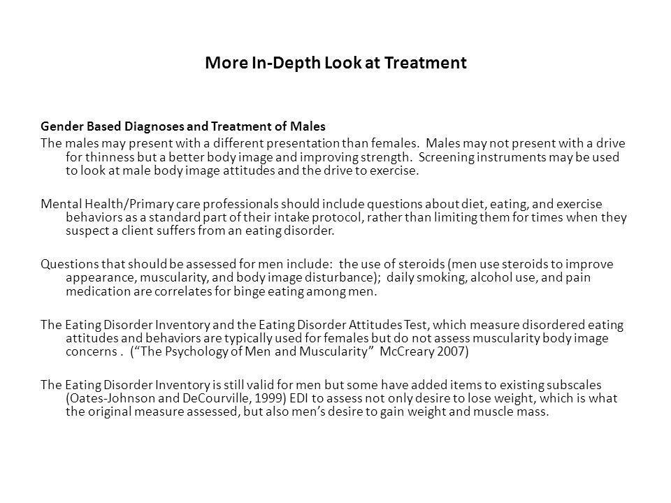 More In-Depth Look at Treatment