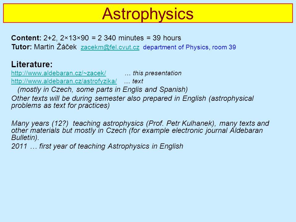 Astrophysics Literature: