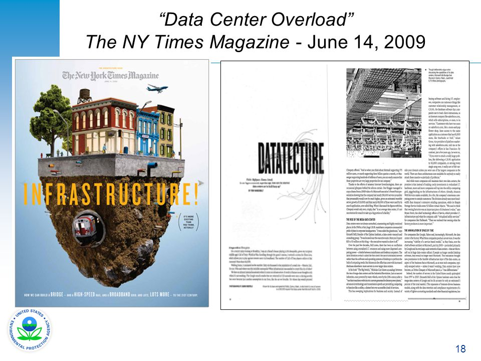 Data Center Overload The NY Times Magazine - June 14, 2009