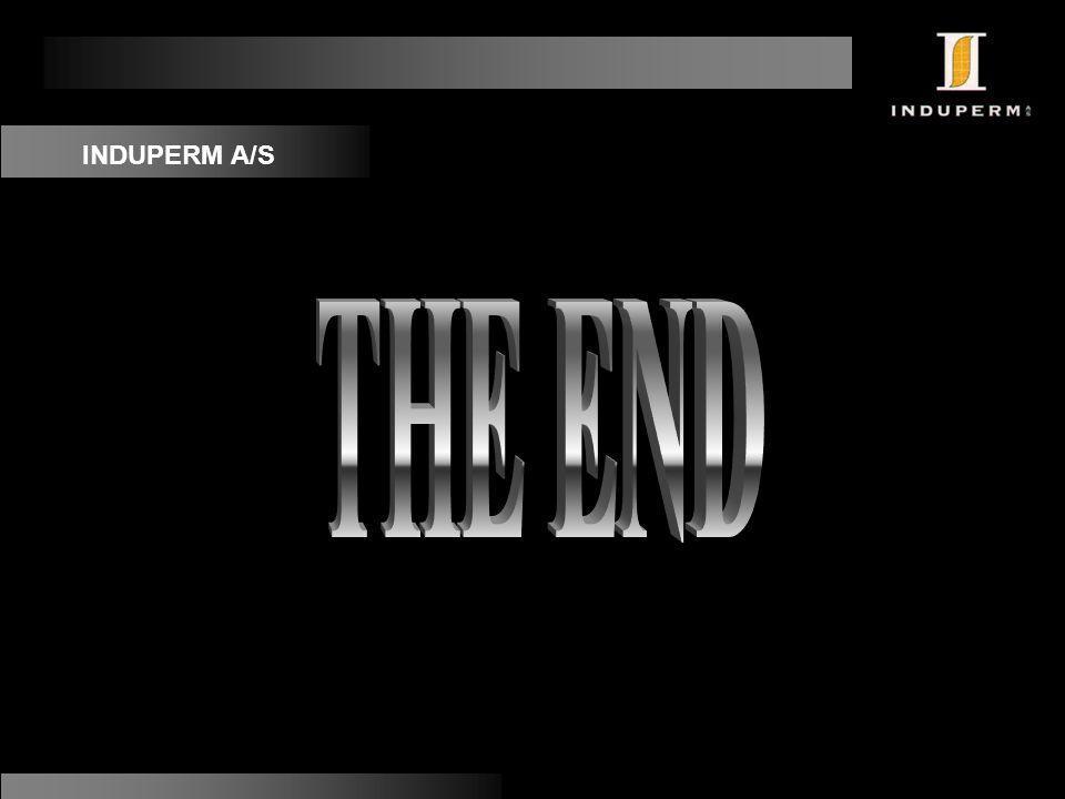 INDUPERM A/S THE END