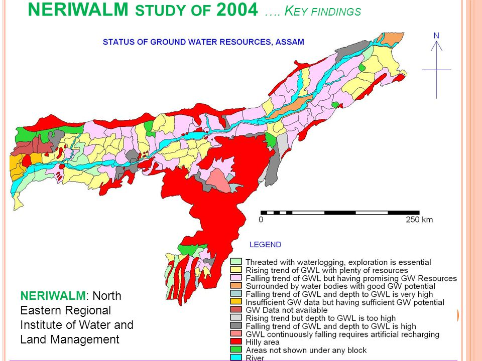 NERIWALM study of 2004 …. Key findings