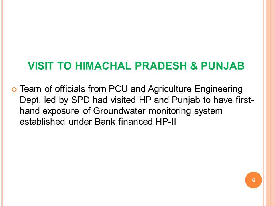 VISIT TO HIMACHAL PRADESH & PUNJAB