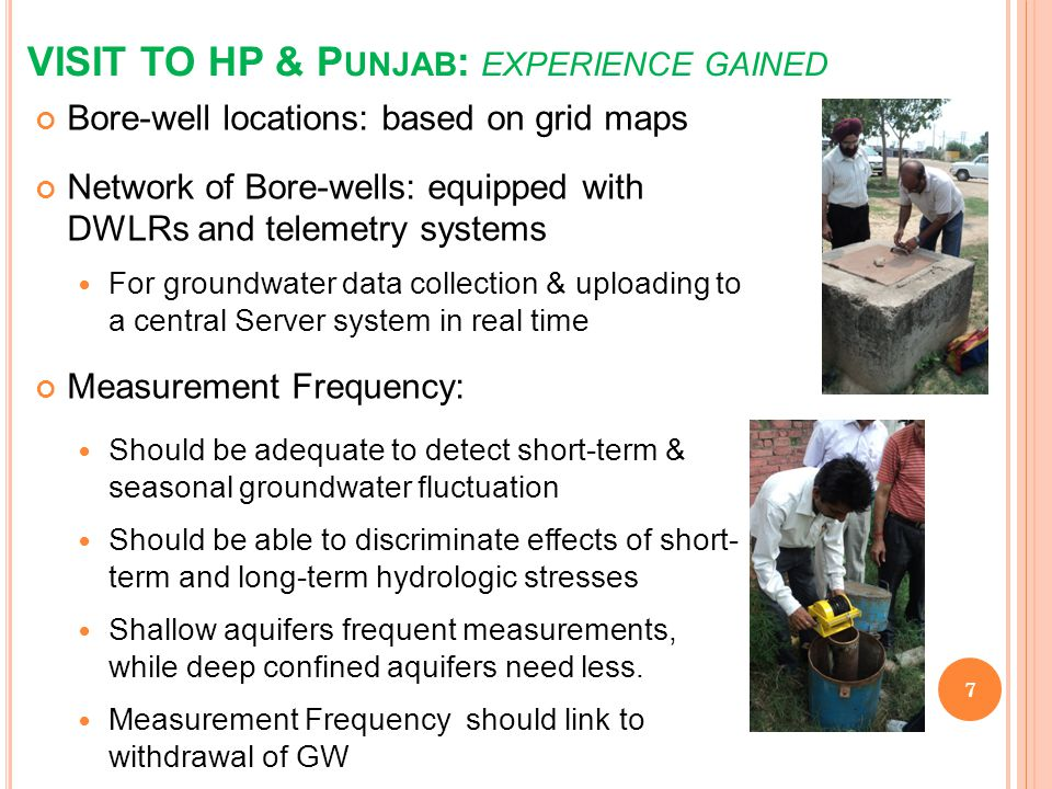 VISIT TO HP & Punjab: experience gained