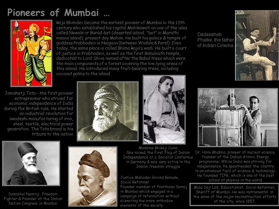 Pioneers of Mumbai … Dadasaheb Phalke, the father of Indian Cinema