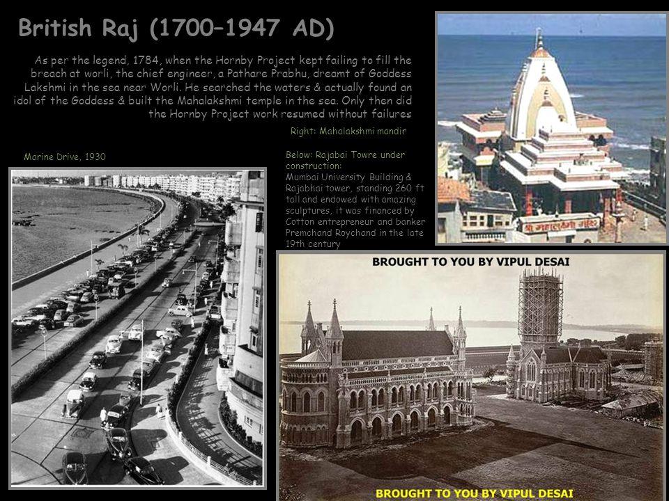 British Raj (1700–1947 AD)