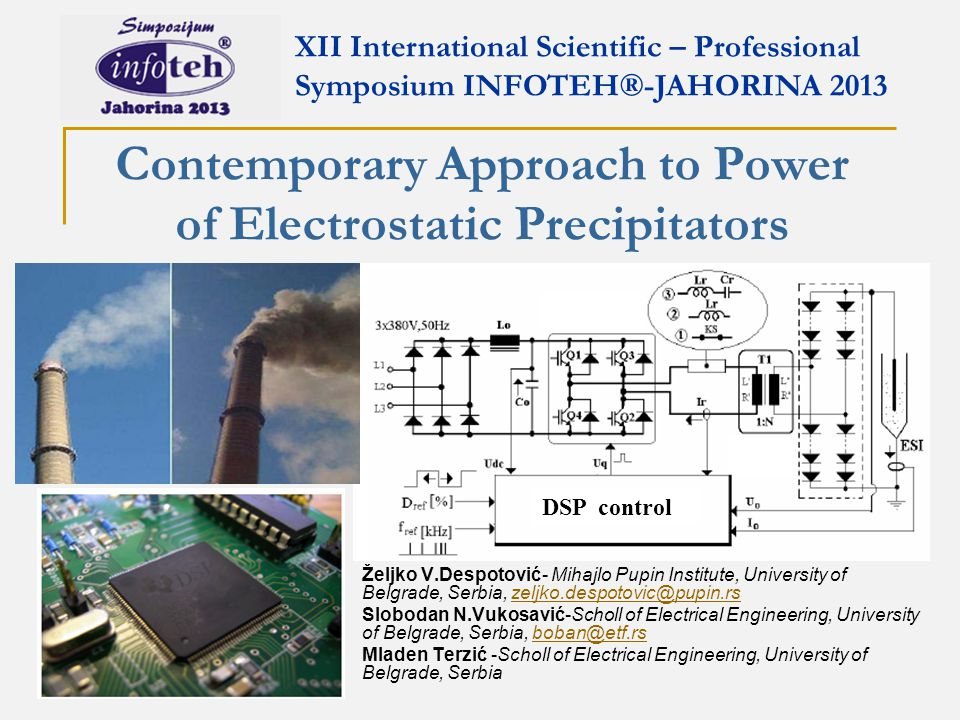 Contemporary Approach to Power of Electrostatic Precipitators