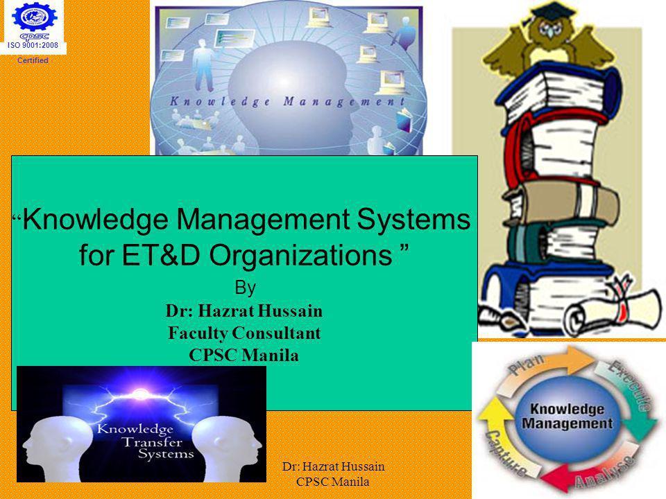for ET&D Organizations
