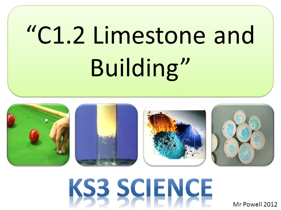 C1.2 Limestone and Building