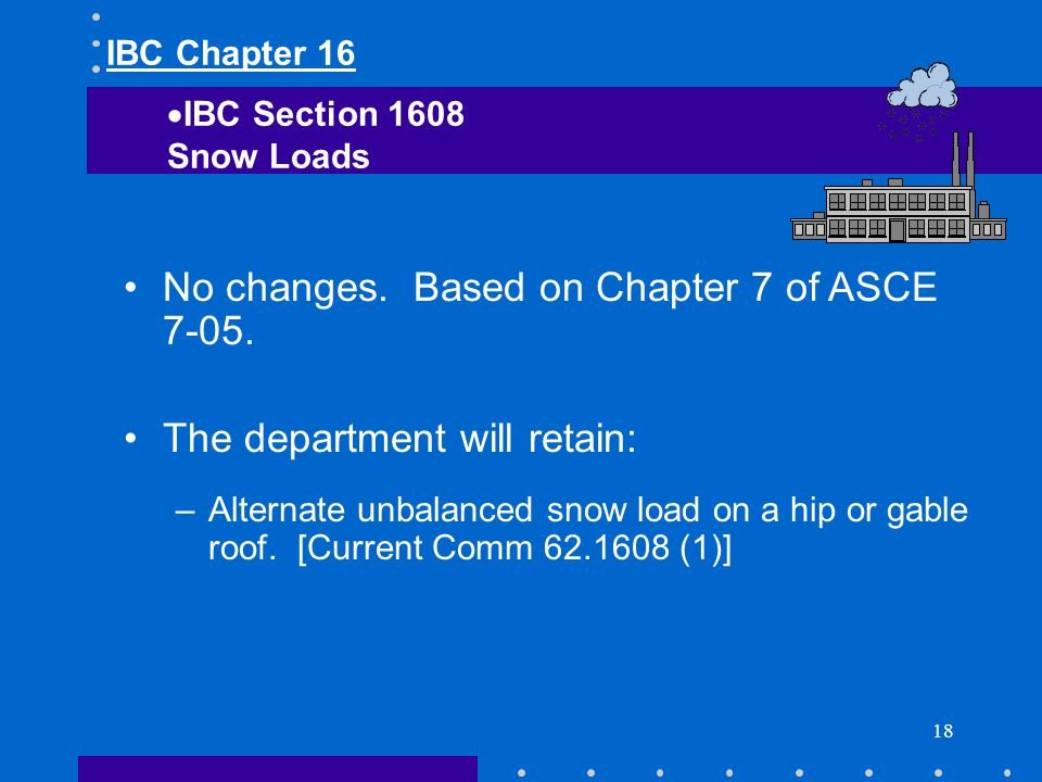 No changes. Based on Chapter 7 of ASCE 7-05.