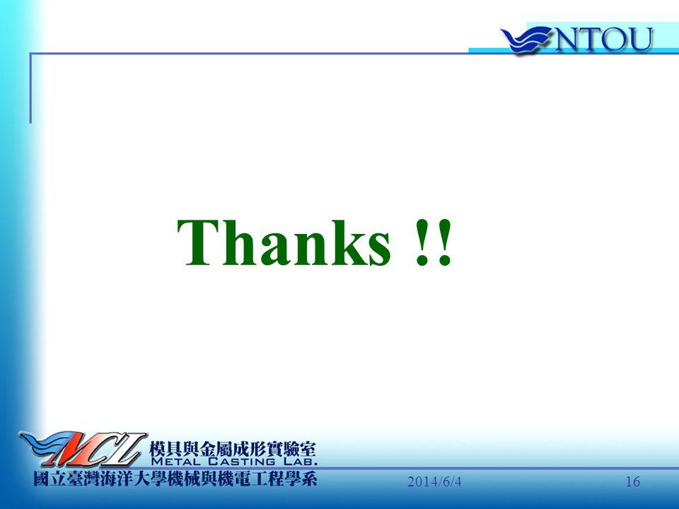 Thanks !! 2017/4/1
