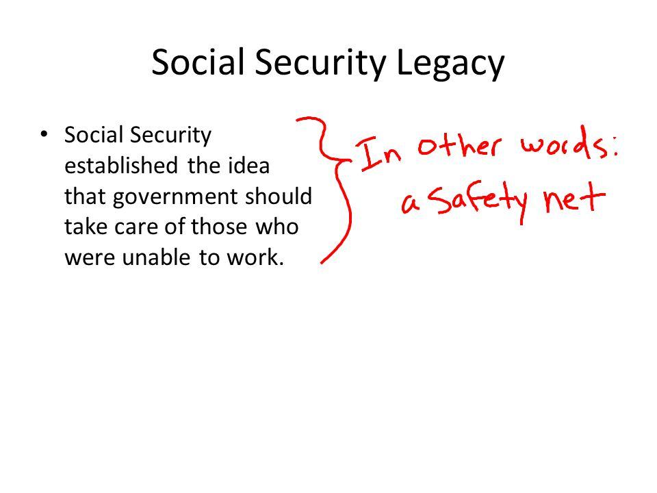 Social Security Legacy