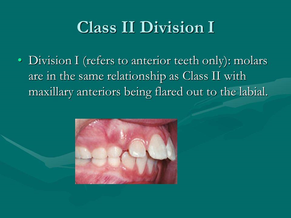 Class II Division I