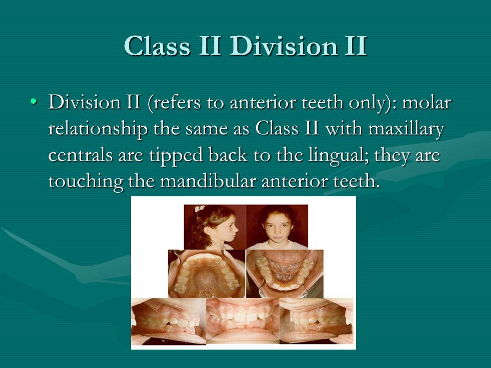 Class II Division II