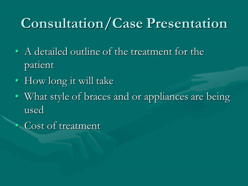 Consultation/Case Presentation