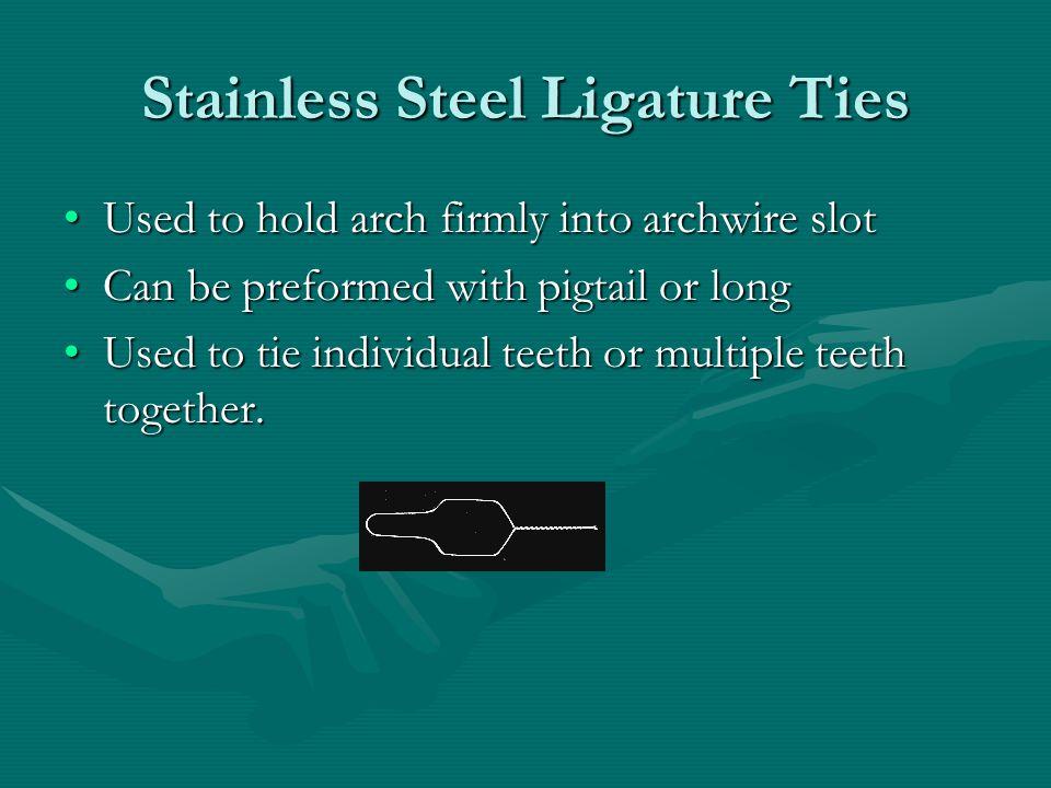 Stainless Steel Ligature Ties