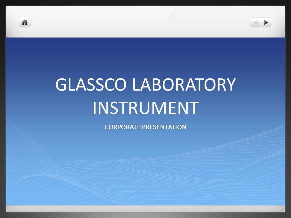 GLASSCO LABORATORY INSTRUMENT