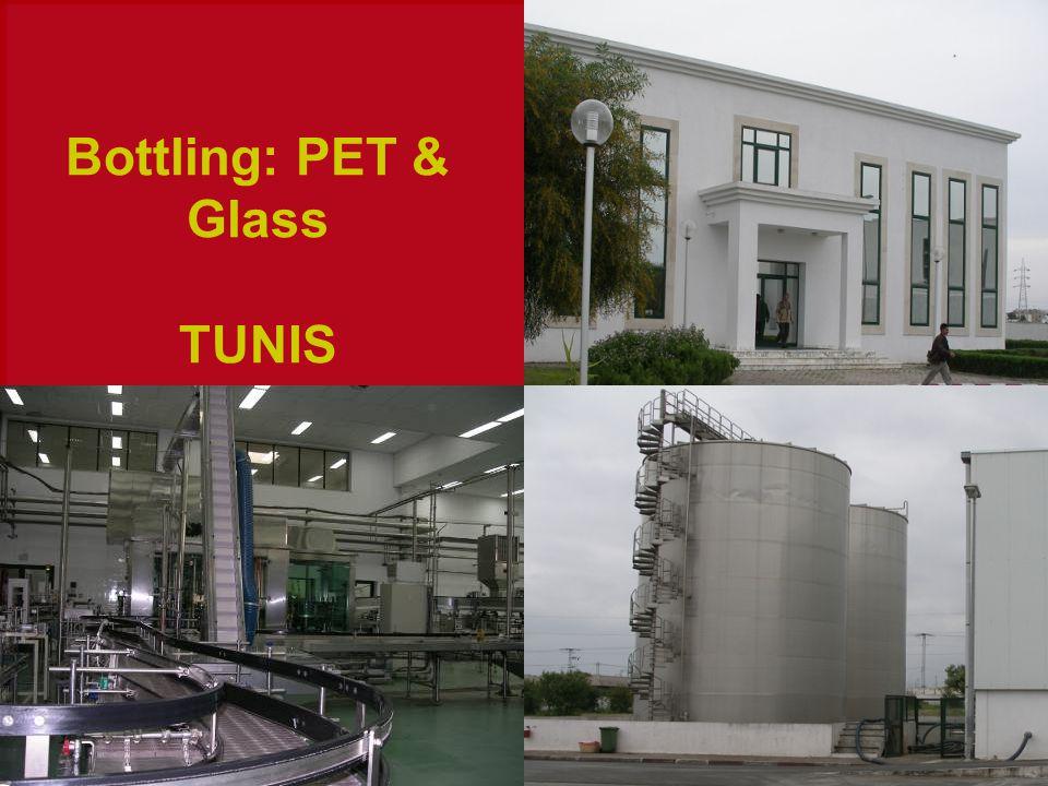 Bottling: PET & Glass TUNIS