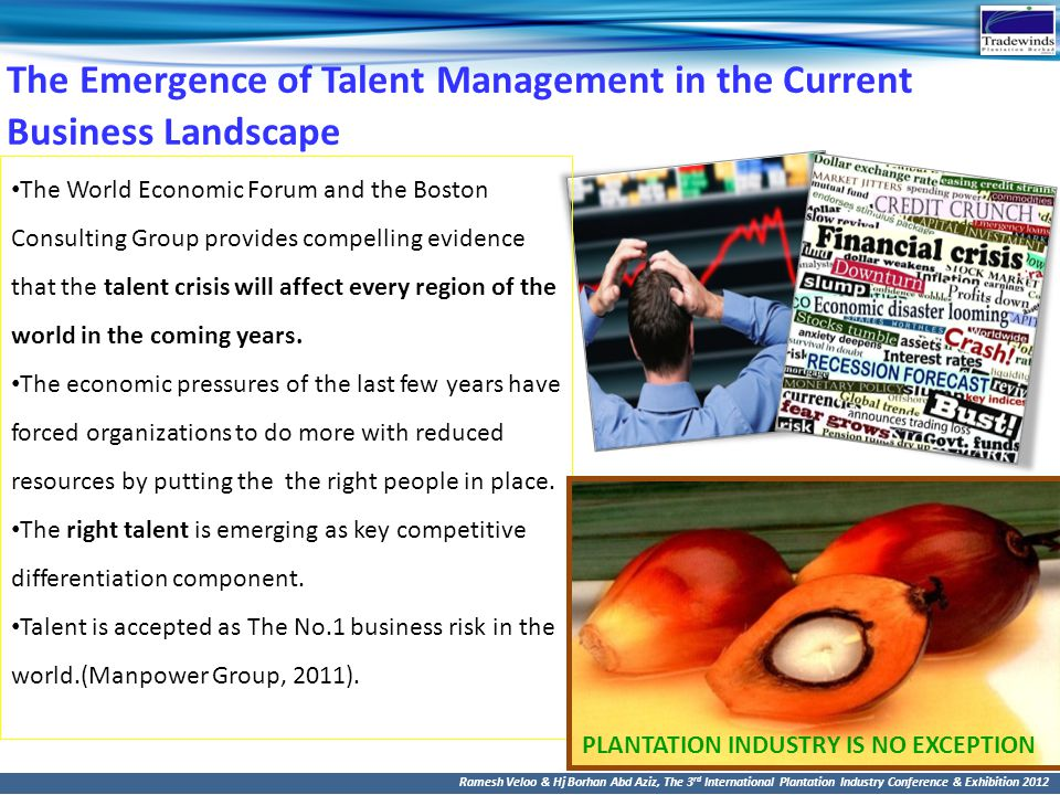 The Emergence of Talent Management in the Current Business Landscape