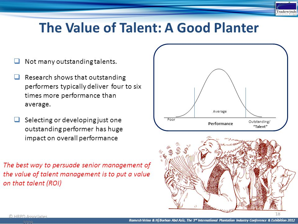 The Value of Talent: A Good Planter