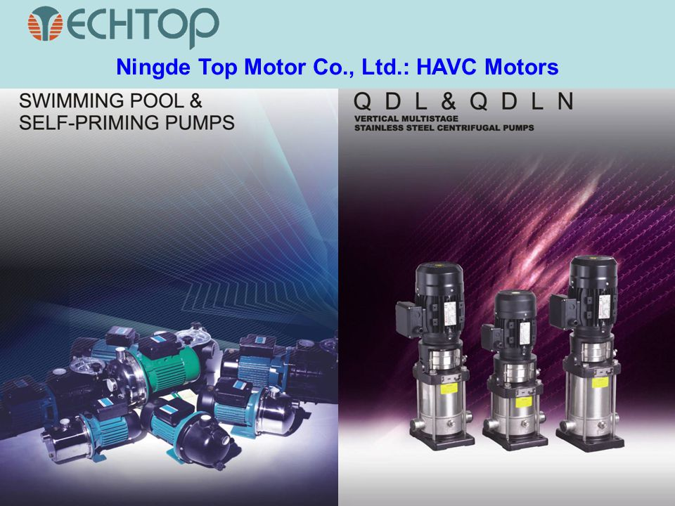 Ningde Top Motor Co., Ltd.: HAVC Motors