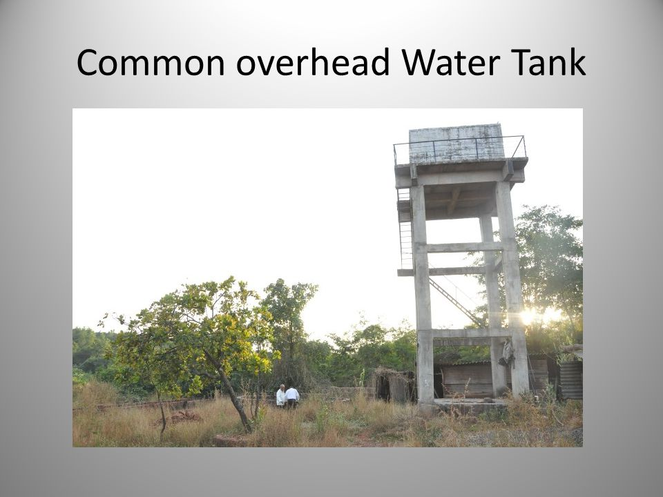 Common overhead Water Tank