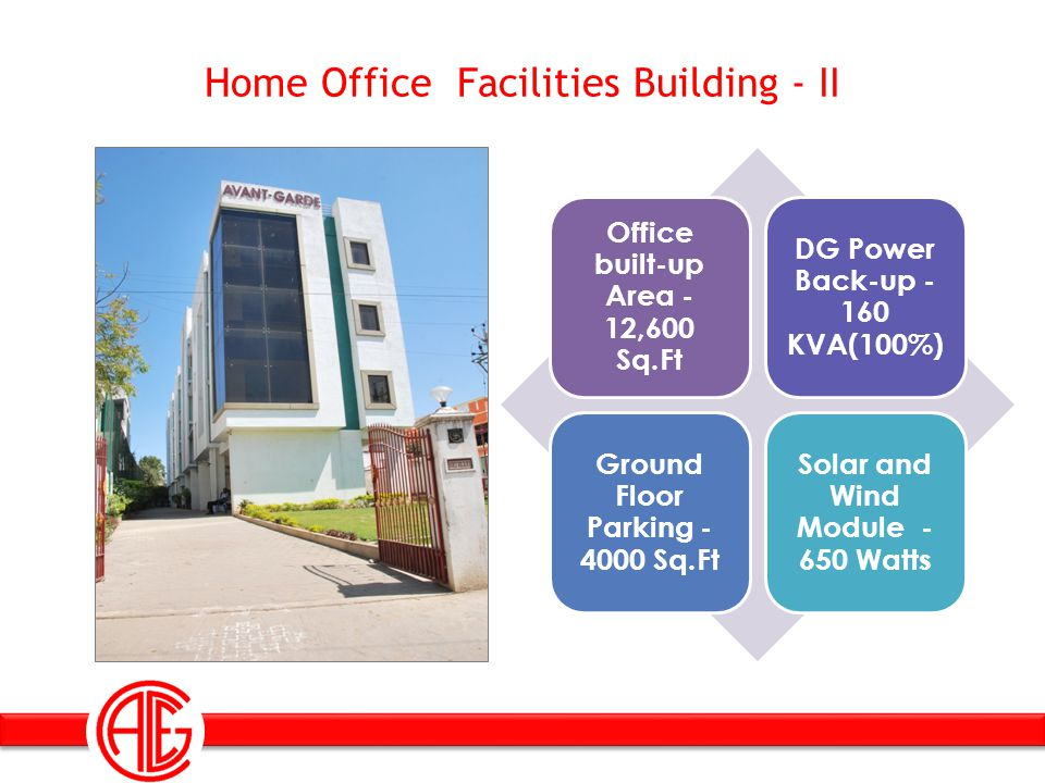 Home Office Facilities Building - II