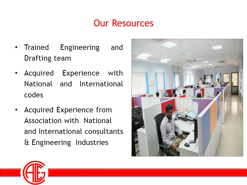 Our Resources Trained Engineering and Drafting team