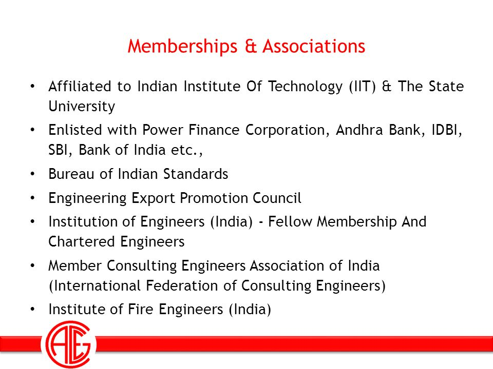 Memberships & Associations