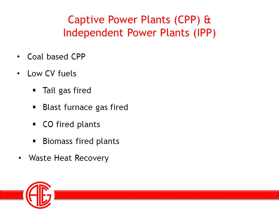 Captive Power Plants (CPP) & Independent Power Plants (IPP)