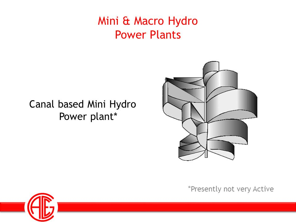 Mini & Macro Hydro Power Plants