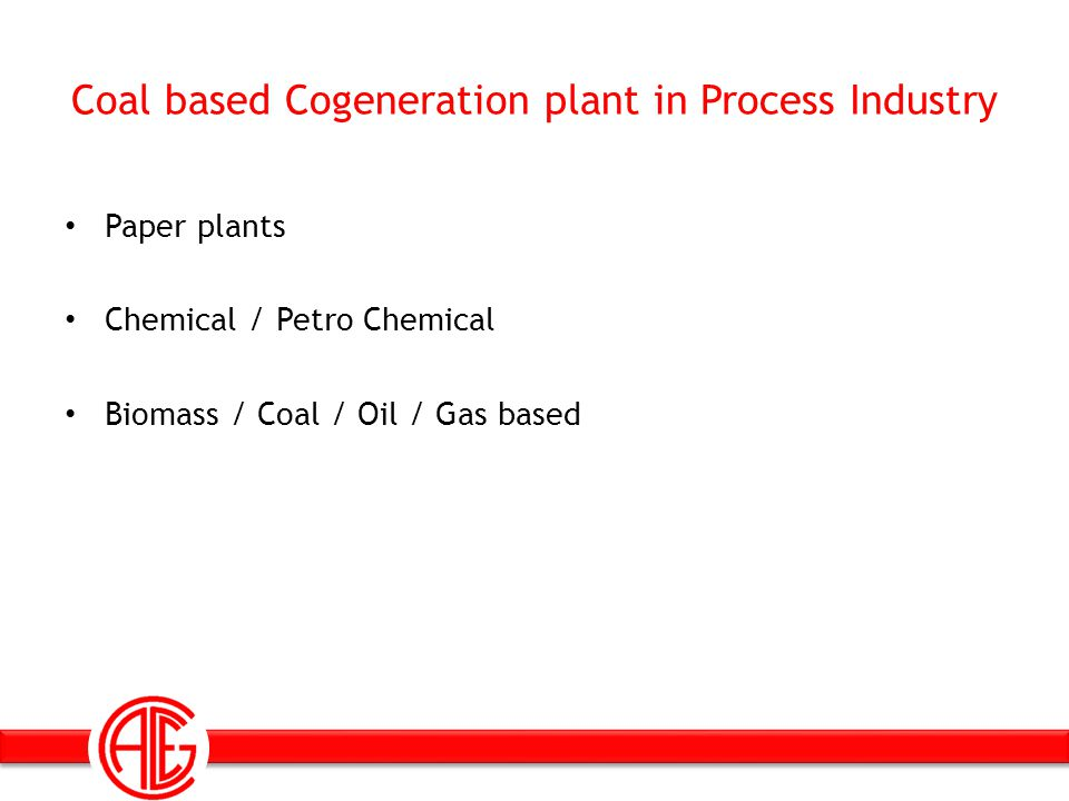 Coal based Cogeneration plant in Process Industry