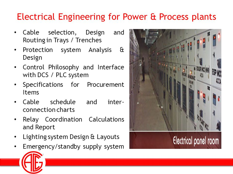 Electrical Engineering for Power & Process plants