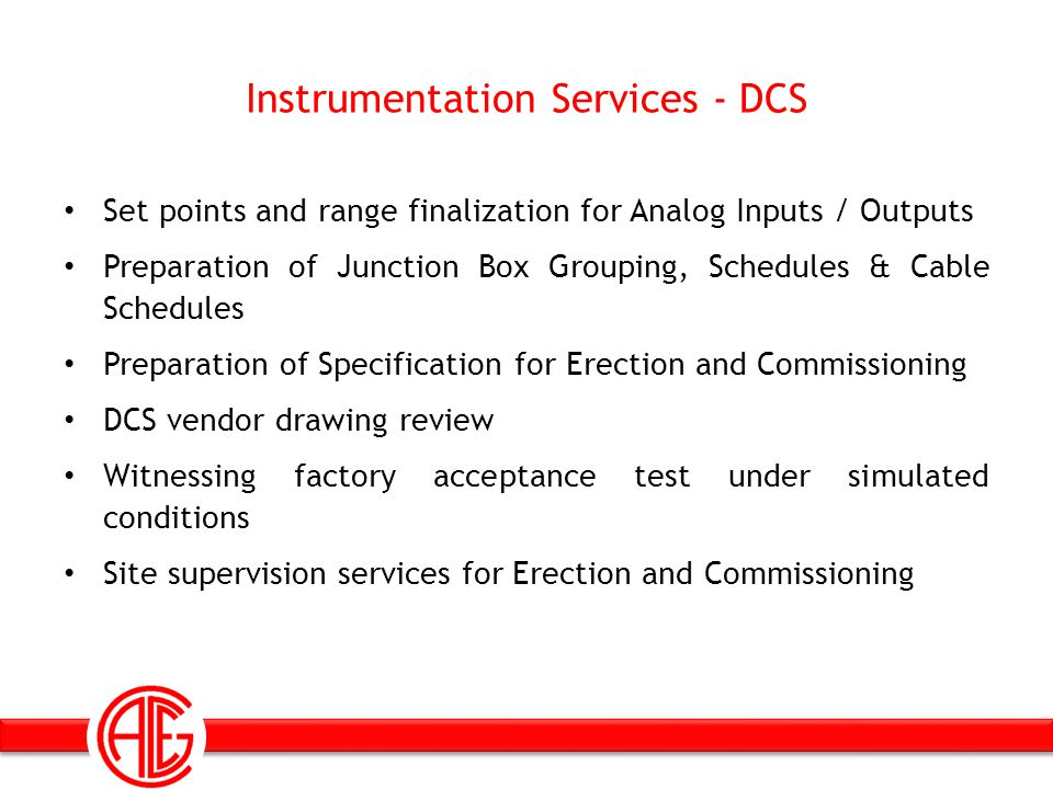 Instrumentation Services - DCS